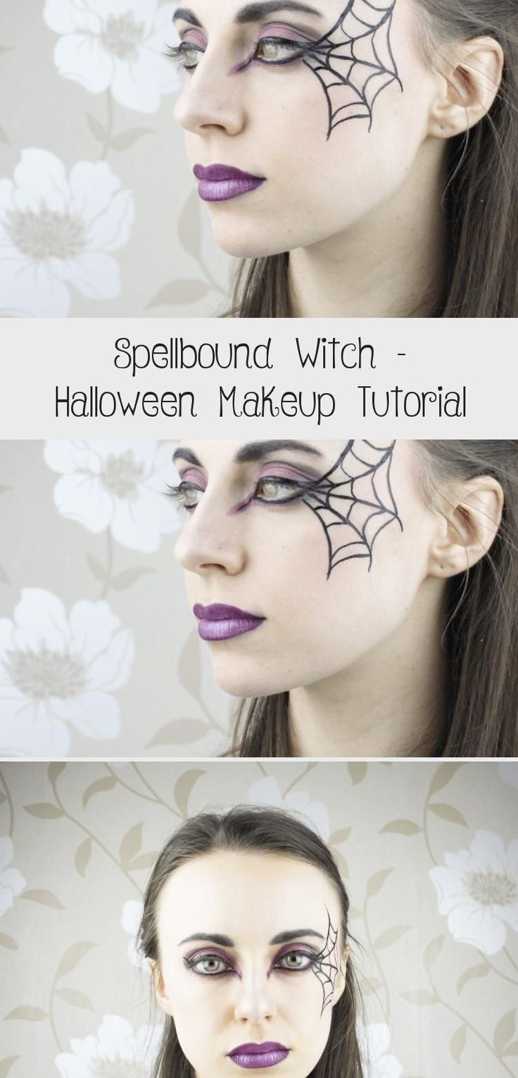 Spellbound Witch Halloween Makeup Tutorial Makeup