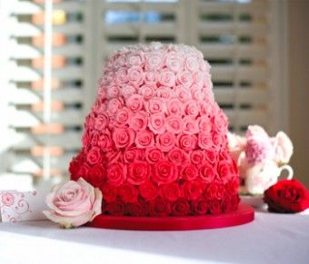 The 13 Best Images About Ruby Wedding Cake Ideas On Pinterest