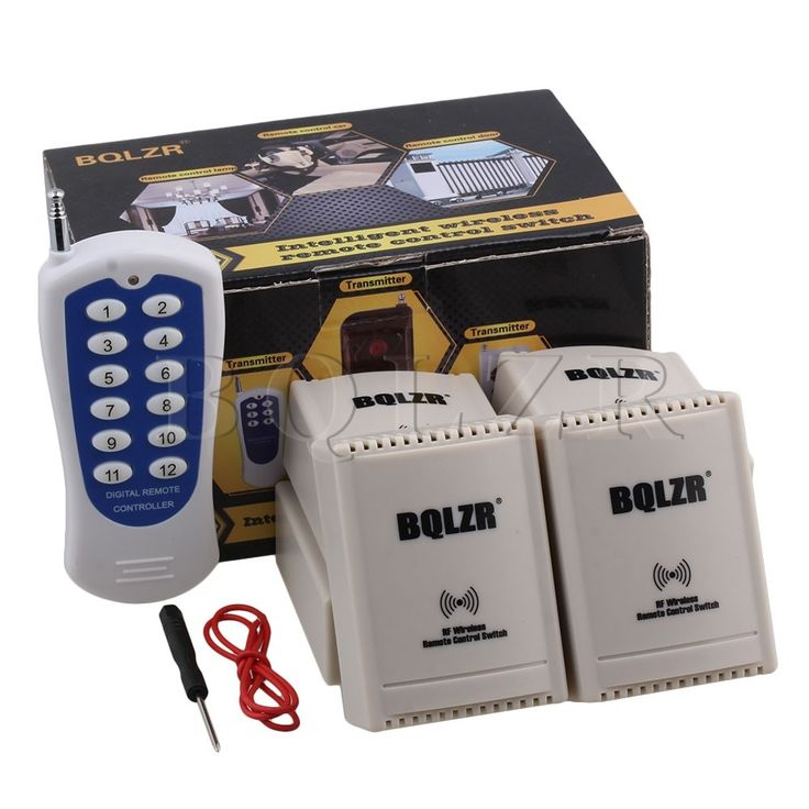 44.50$  Know more - http://ai46d.worlditems.win/all/product.php?id=32772335075 - Self-locking 2CH BQLZR Remote Control 12V 433Mhz Electric Garage Door Window