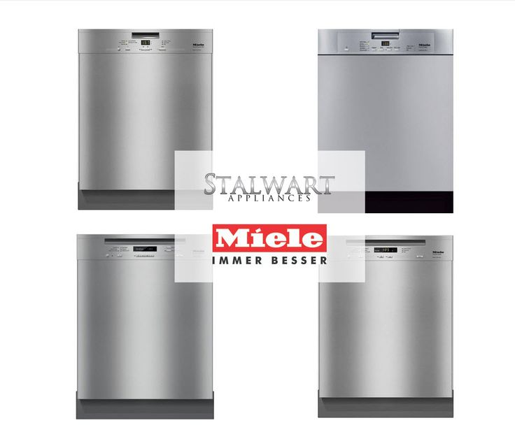 Need a 13 or 16 place settings dishwasher? Check out our featured products of the month: Miele Forever Better!