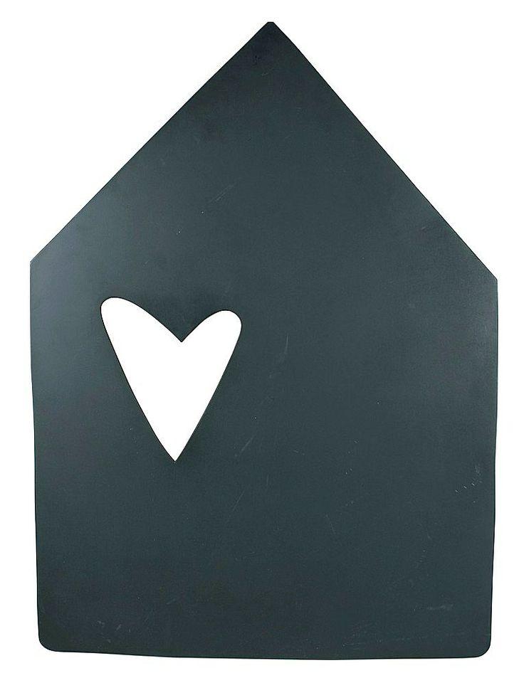 Dit IS VTwonen.. Hart voor je thuis!  #vtwonen #magazine #interior #black #chalkboard #house #heart #homecollection