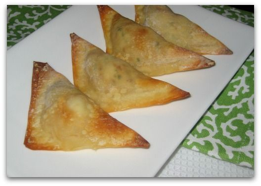 Crispy Baked Shrimp Wontons | can use canned tiny shrimp or crab OR?