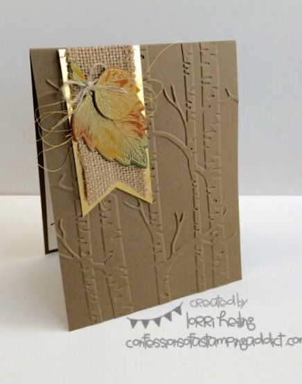 masculine autumn card by Lorri Heiling