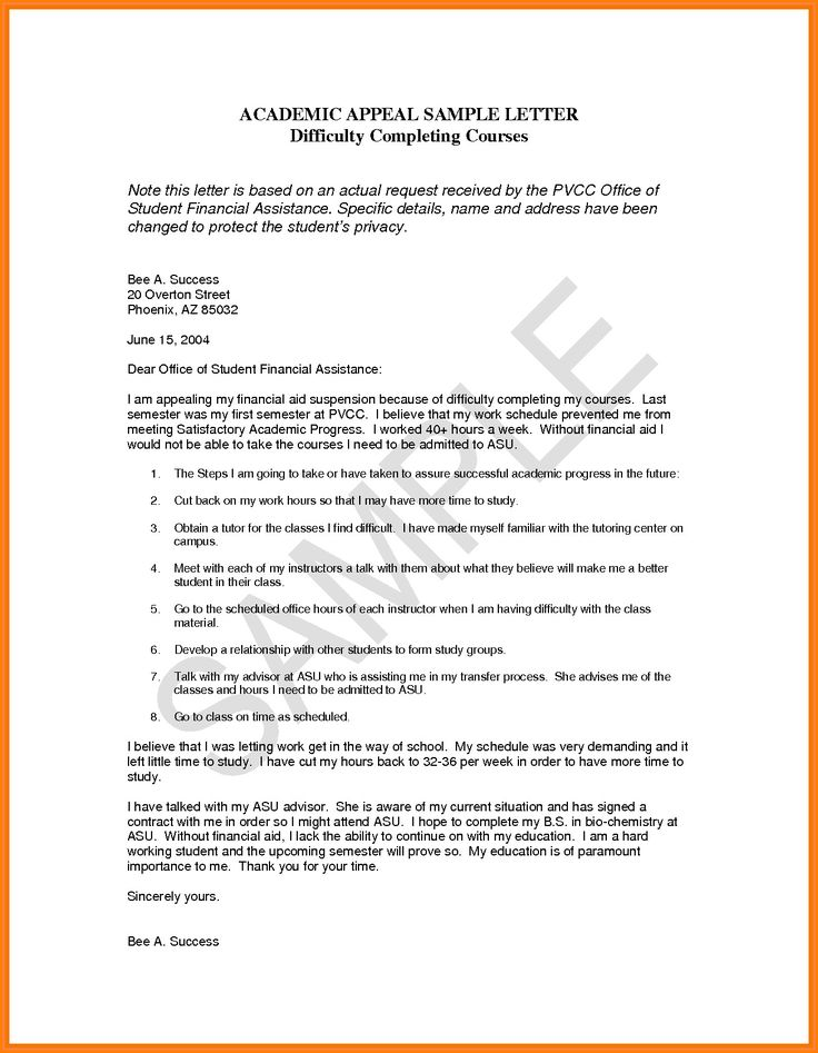 Financial Aid Appeal Letter Template Elegant 13 Financial Aid Appeal Essay Examples Lettering Letter Example Letter Templates
