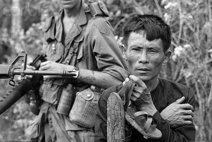 Captured Viet Cong Soldier (Corbis)