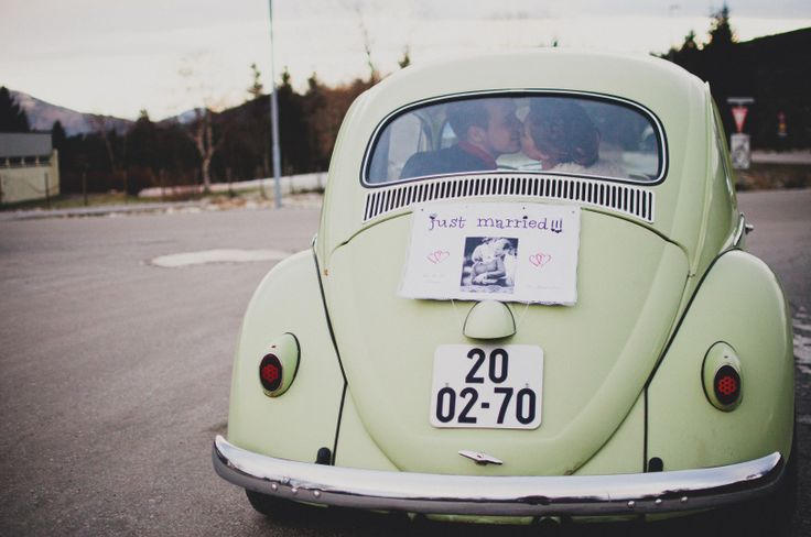 Just married! So cute care :-D