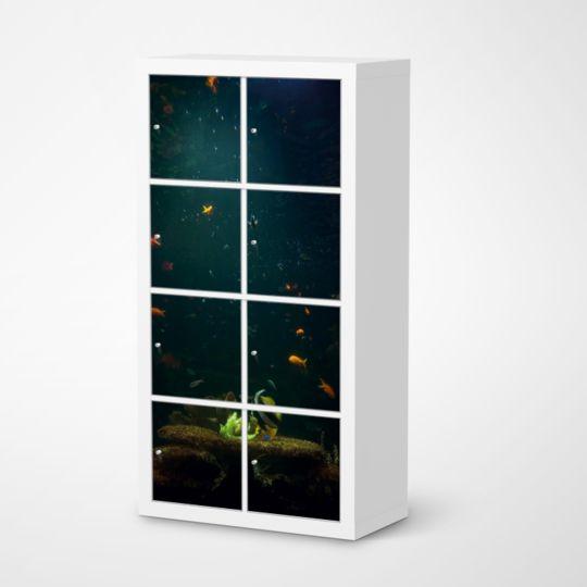 Die #Klebefolie Mit Dem Design U201eAquariumu201c Für Deine IKEA Möbel Und Vieles  Mehr