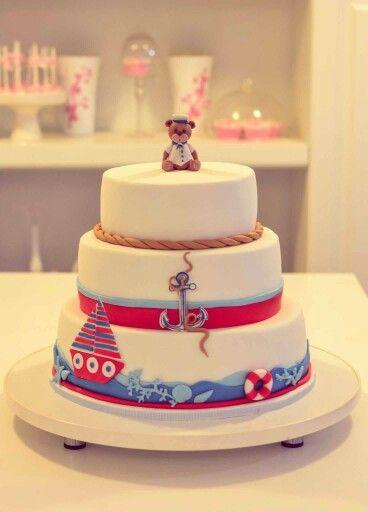 Nautical theme cake - Boheme delices francaises