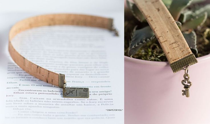 Available at https://en.dawanda.com/product/110539327-cork-bookmark-with-postcard-i-love-you-and-key