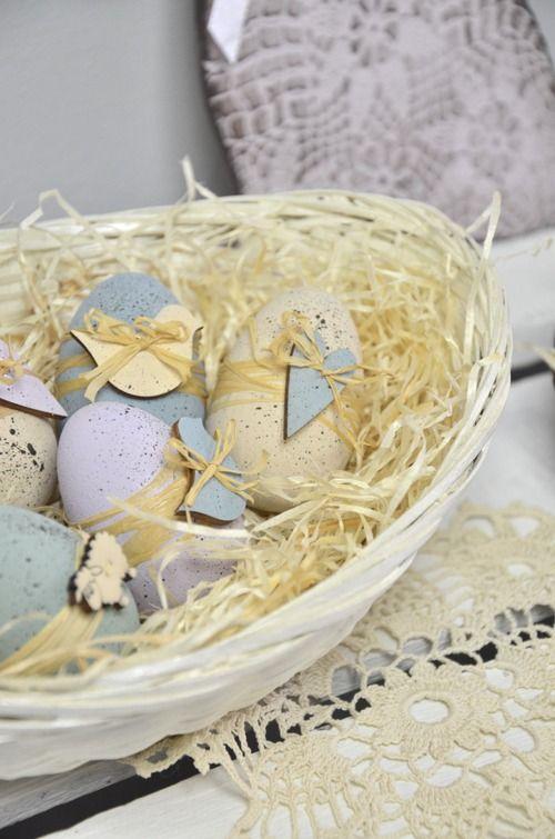 Húsvéti dekoráció vintage hangulatban