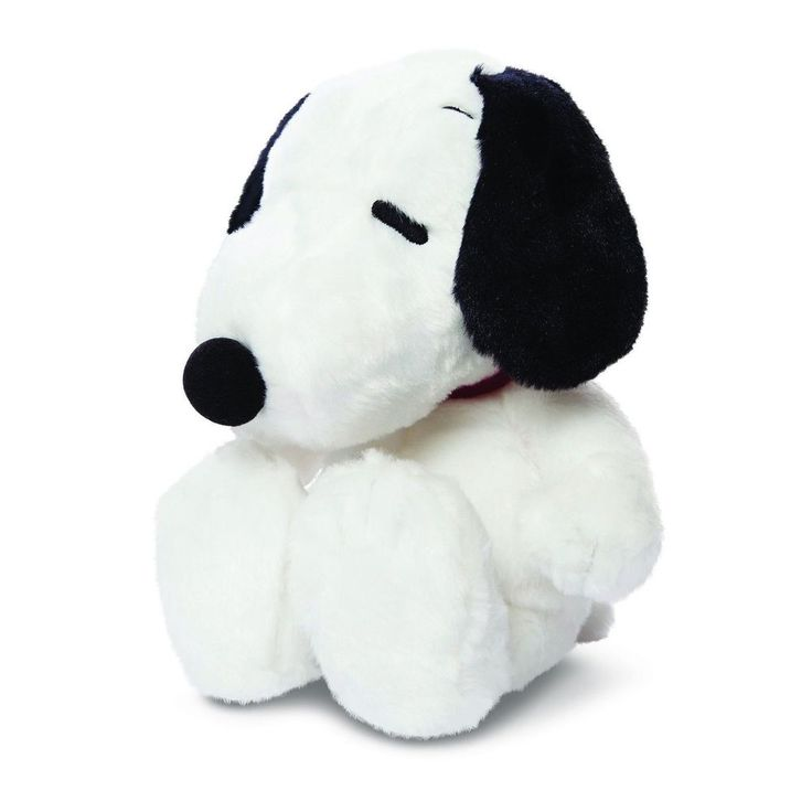 "Snoopy Sitting 11  Soft Plush Cuddly Toy by Aurora (Snoopy) Peanuts stock running out fast!!""  Grab one quickly!"