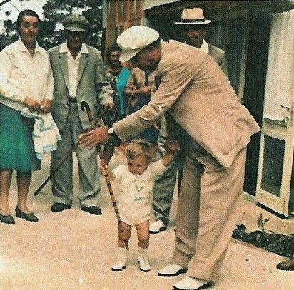 Enver Hoxha ne Llogara, gushte 1969.