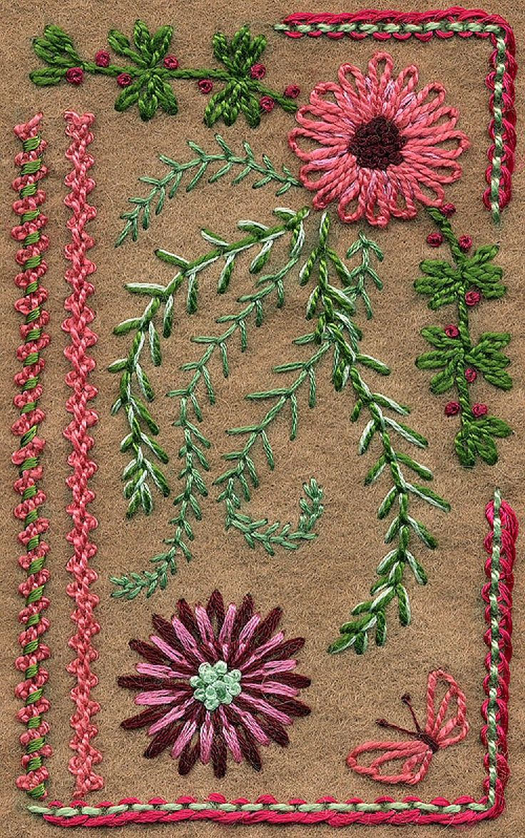 Best stitches and stitch tutorials images on pinterest