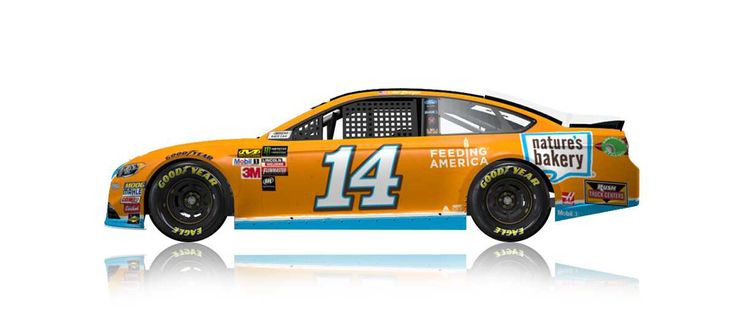 Paint Scheme Preview: New Hampshire Wednesday, July 12, 2017 Clint Bowyer will drive the No. 14 Nature's Bakery/Feeding America Ford.     Photo: 7 / 23