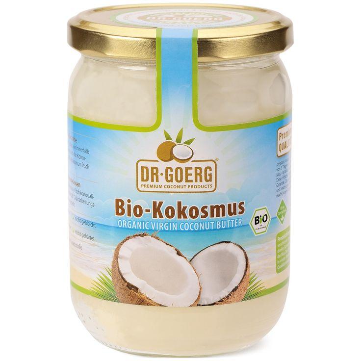 Dr. Goerg Kokosové máslo Premium 200ml RAW BIO
