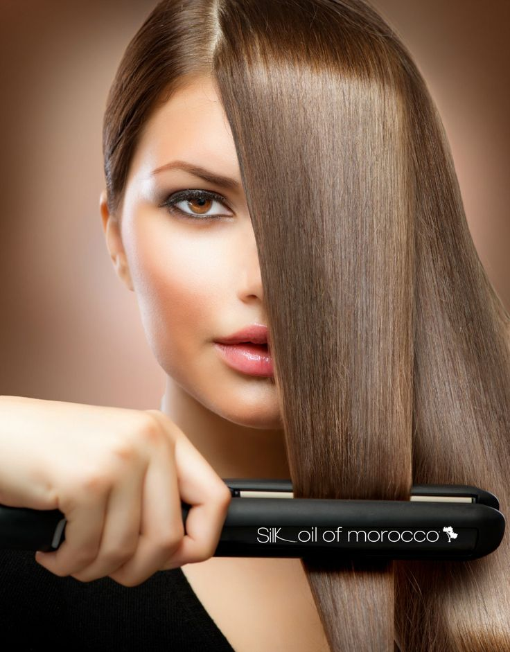 Protect your hair using Silk Oil of Morocco's Argan Thermal Protection & Shine Spray #musthave