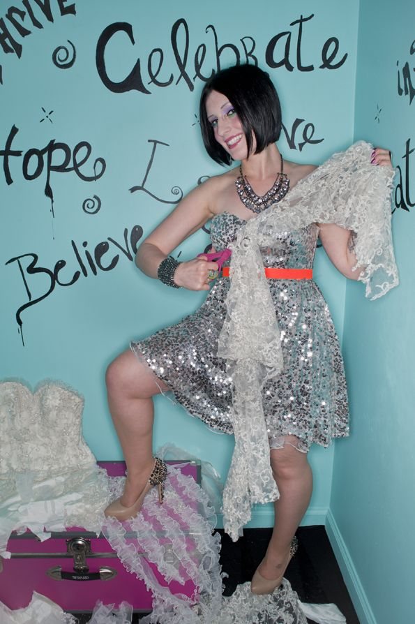 CELEBRATE DIVORCE #TrashTheDress #divorce photoshoot #divorceparty