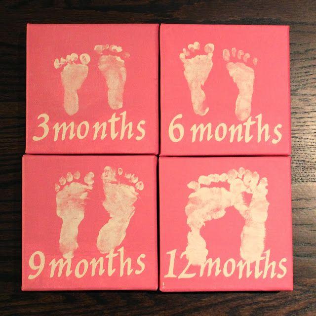Baby Footprints  www.themilehighmom.com
