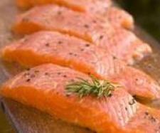 Recette Pave de saumon sauce ail, échalote  par sandra stratemeyer - recette de la catégorie Poissons