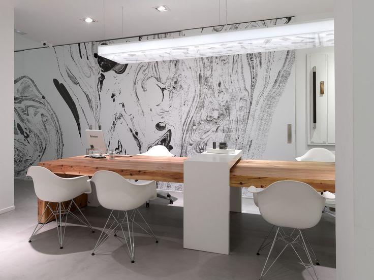 Las 25 mejores ideas sobre oficinas modernas en pinterest for Mesas para oficinas modernas