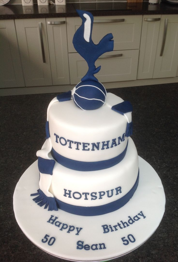 Tottenham Hotspur Wedding Cake Toppers