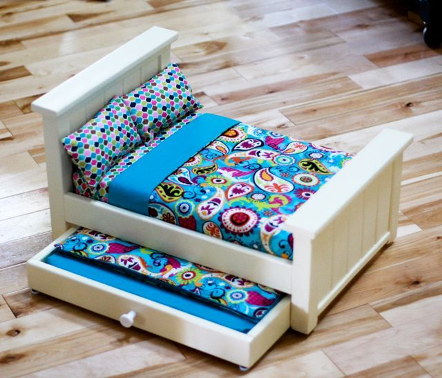 How To Make Doll Furniture From Household Items