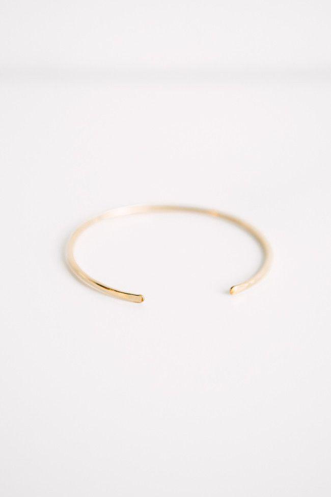 Laite Jewelry 14k Gold Cuff – Parc Boutique