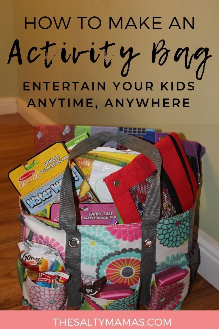 Achieving Super-Mom Status with a Travel Activity Bag