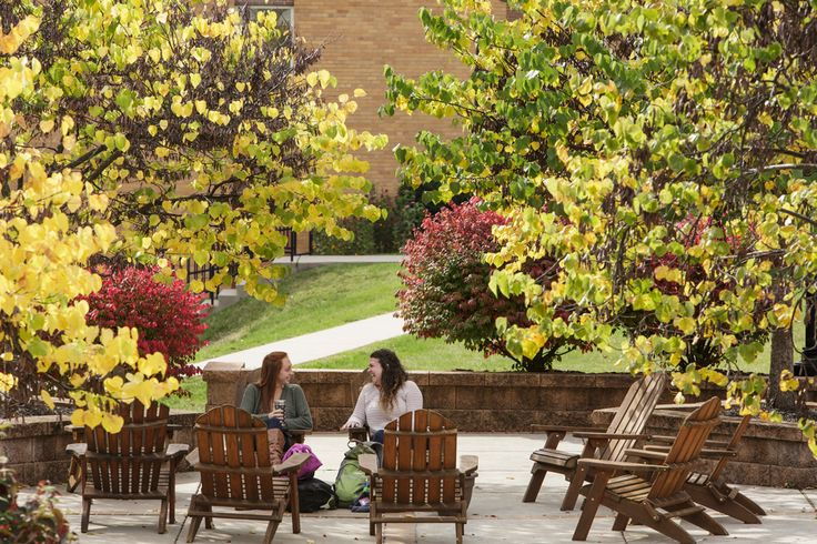 The #fall is the perfect time to get outside and enjoy the beautiful colors on #Alvernia's campus!