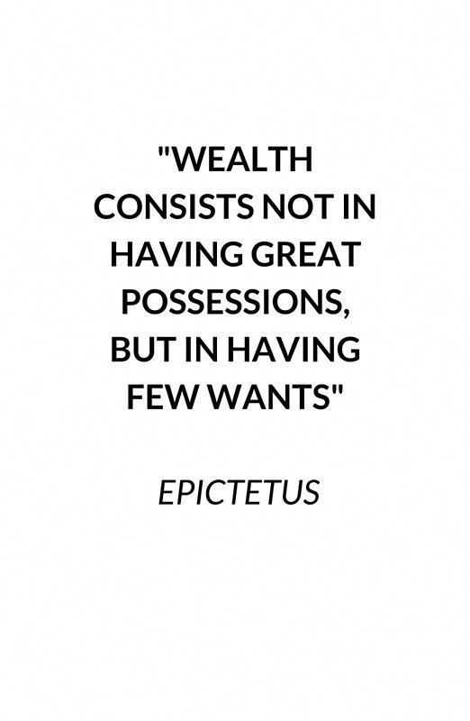 WEALTH – Stoic Quote #redbubble #stoic #stoicism #…
