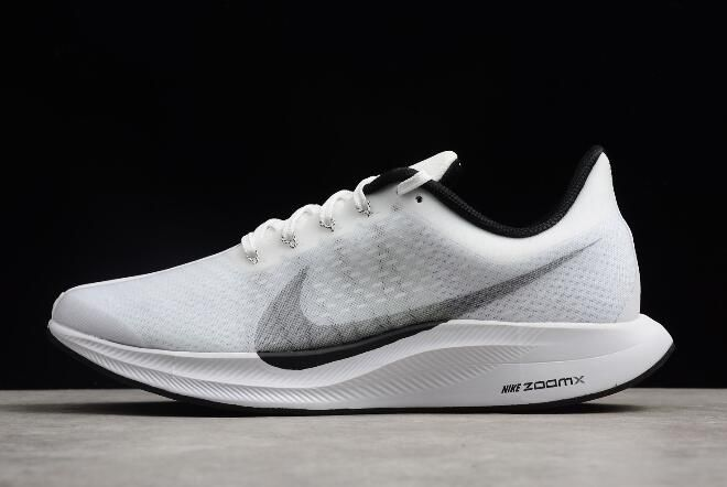 86afd7e50cd4 Nike Zoom Pegasus 35 Turbo White Black AJ4114-100 Free Shipping