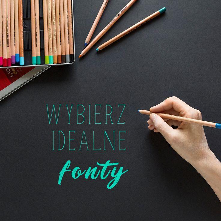 Typografia jest jednym z najgorętszych trendów na rok 2018  Coraz więcej projektów opiera całą swoją koncepcję wizualną o fonty. Dowiedz się jak dobrać fonty żeby Twoja strona zrobiła dobre wrażenie