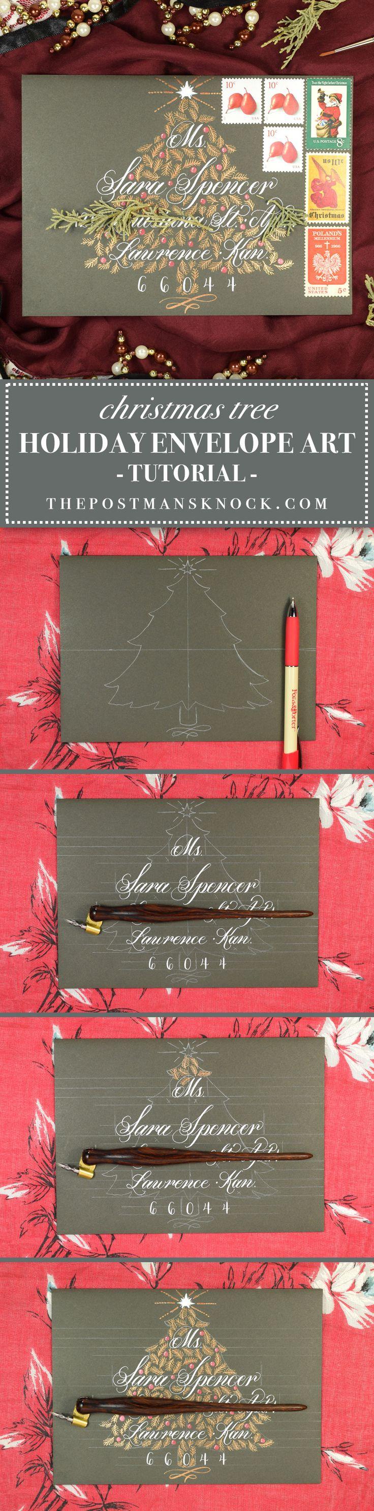 1067 best Addressing envelopes images on Pinterest | Envelope art ...