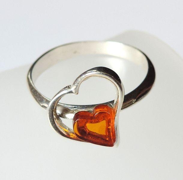 #Coeur ambre de la Baltique  de abakusshop sur DaWanda.com