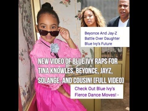 Blue Ivy Raps for Tina Knowles, Beyonce, Jay Z, Solange, and Cousin! [Fu...