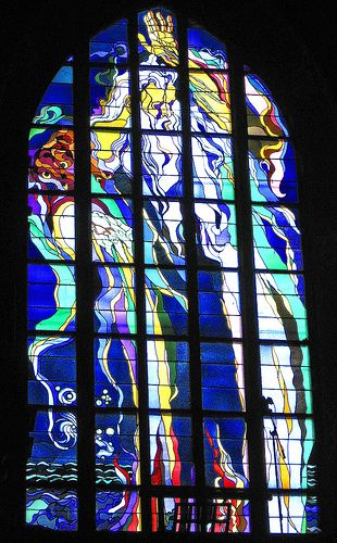 Art Nouveau Glass (Wyspianski) by michaelGro, via Flickr