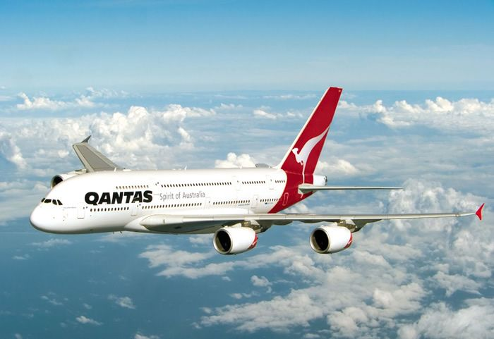 QANTAS A380 Spirit Of Australia