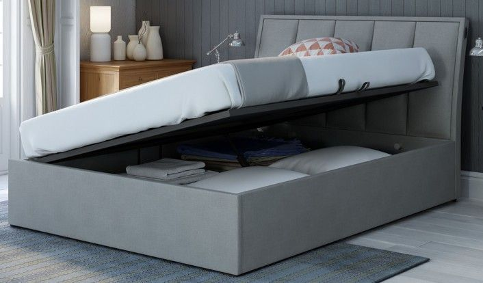 150cm Bedstead Harlow Ottoman Electric Side Lift Master