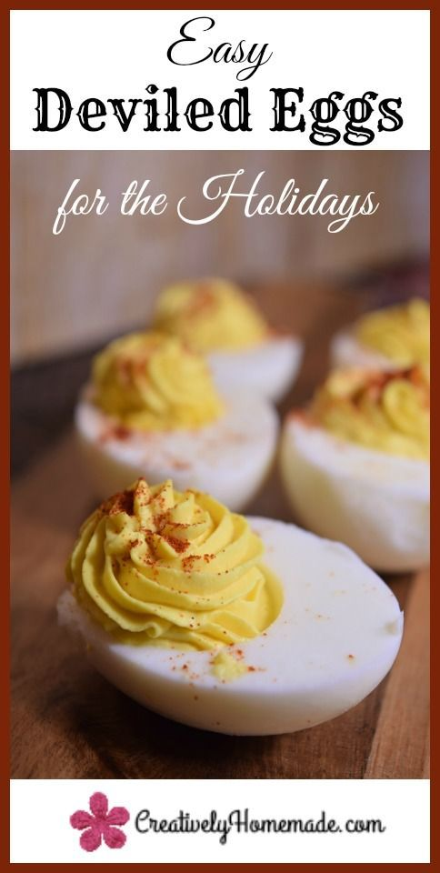 This quick and easy deviled eggs recipe is a must have for your holiday meals. Keep reading to learn how simple it is to make them!