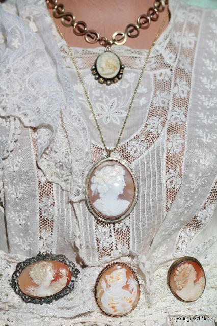 113 best cameos images on pinterest antique jewellery ancient cameo elegance that never goes out of style mozeypictures Images