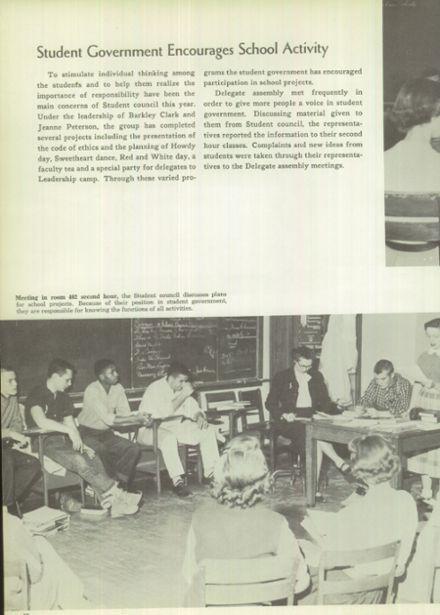 1958 East High School Yearbook via Classmates.com