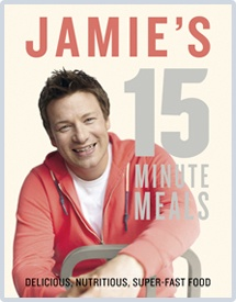 Been watching this on TV - love the way he cooks. But I reckon that if Jamie does it in 15 mins then I can do it in 30 mins.