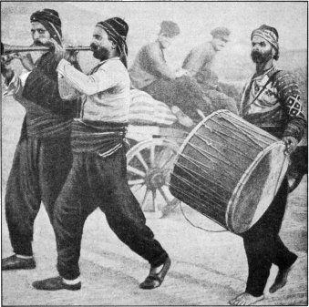 Musical Greek Gypsies of the Aetolian Plains (The Secret Museum of Mankind. New York, Manhattan House, 1935)