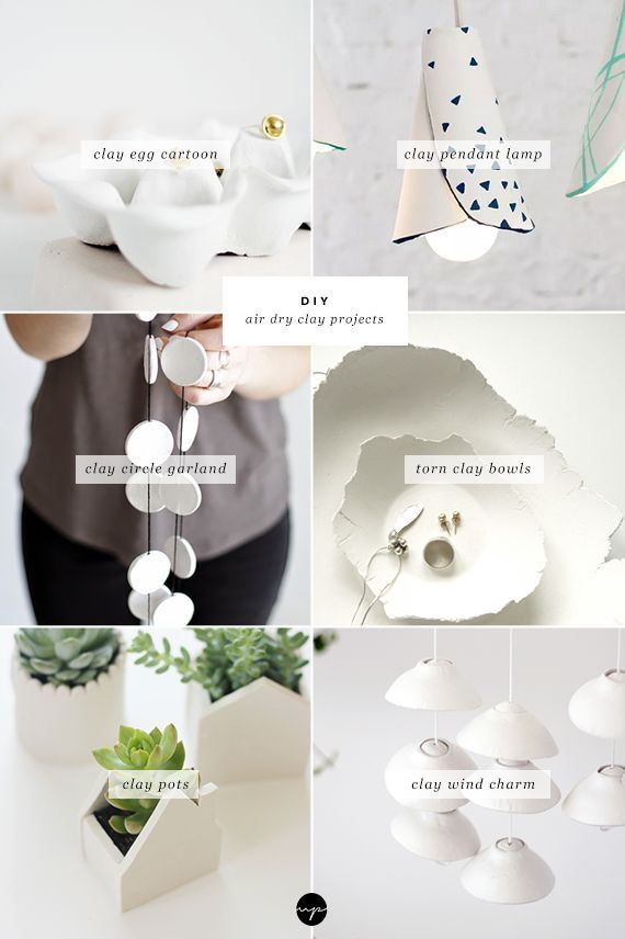 17 best ideas about air dry clay on pinterest clay for Air dry clay crafts
