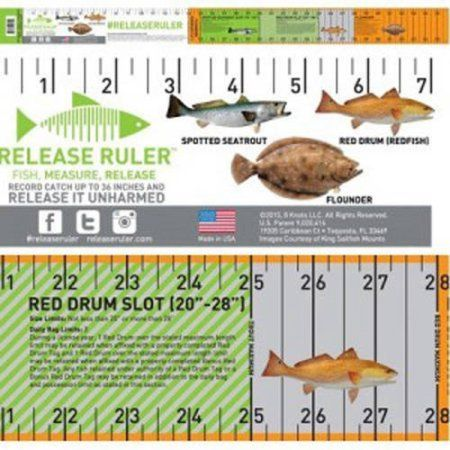 Release Ruler Texas Inshore Slam Decal in 2019 Saltwater