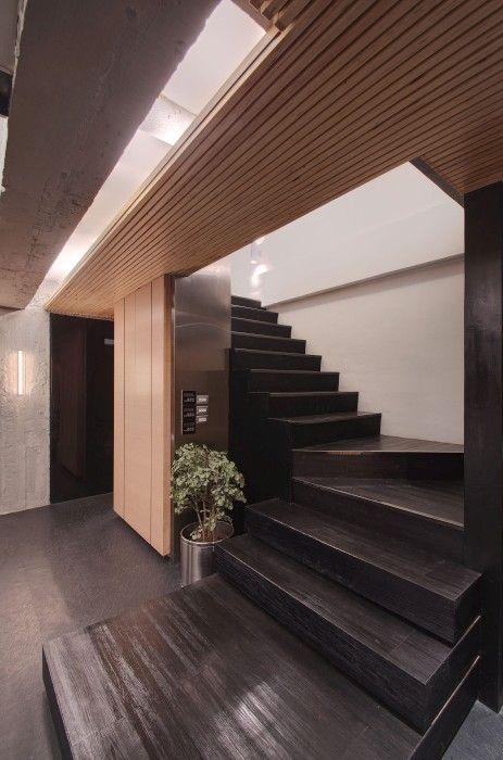 TBDC – Taipei Base Design Center Office / TBDC #stairs