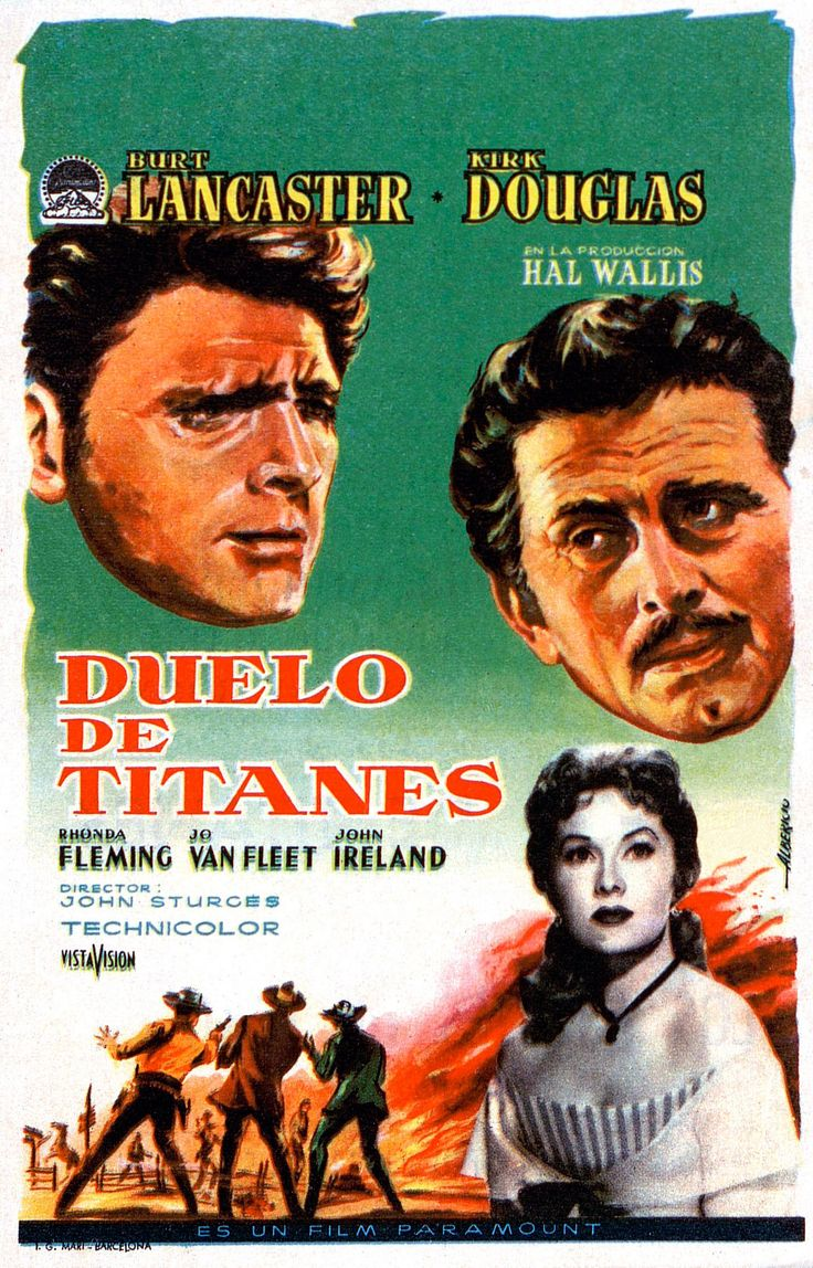 1957. Duelo de titanes - Gunfight at the O.K. Corral - tt0050468