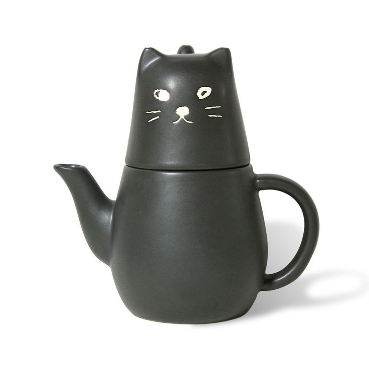 Black Cat Tea For One Set by Miya
