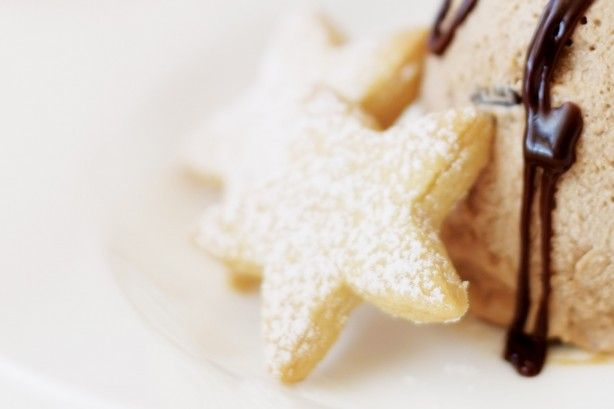 Be the star performer this Christmas with these crunchy little shortbread biscuits.