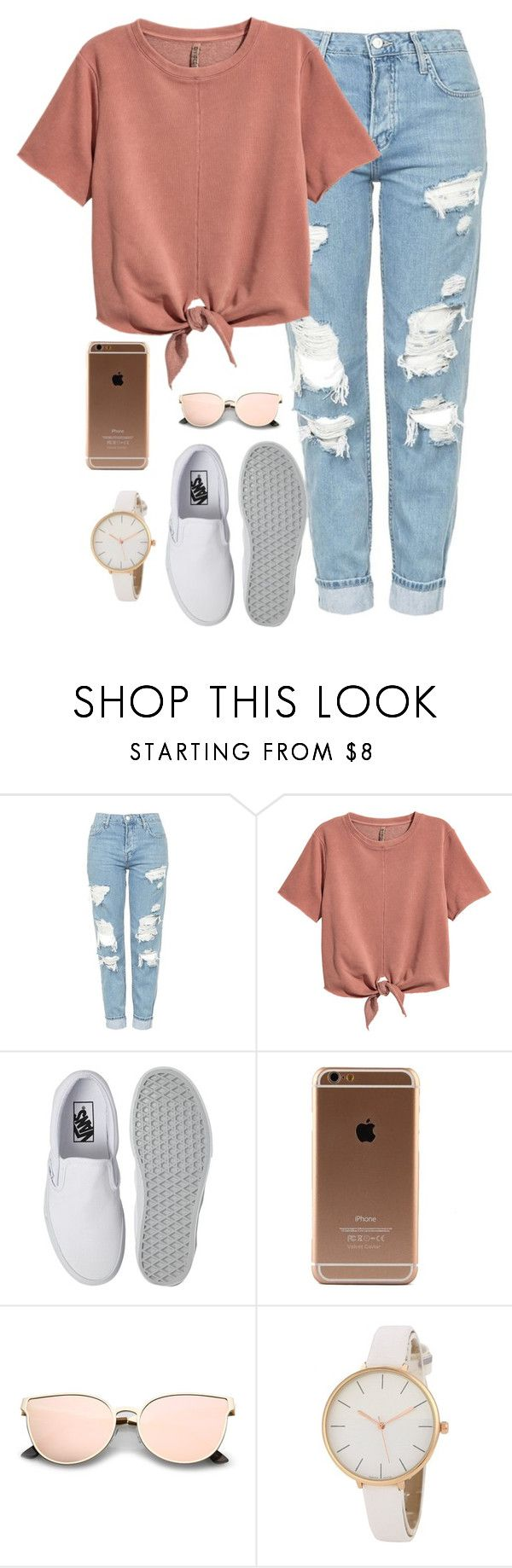 """Very cute, yet simple 28"" by lollypopz951 ❤ liked on Polyvore featuring Topshop and Vans"